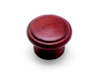 Mahogany Finish Knob